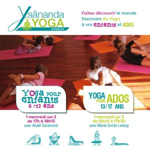 Yoga enfant et yoga adolescent à bordeaux