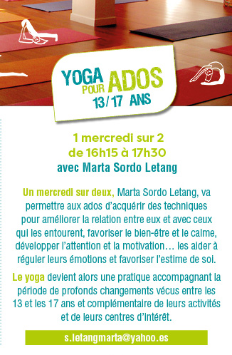 yoga pour adolescents à bordeauxa